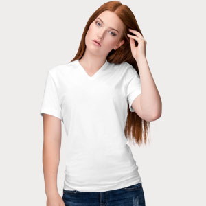 Womens Vneck Shirts